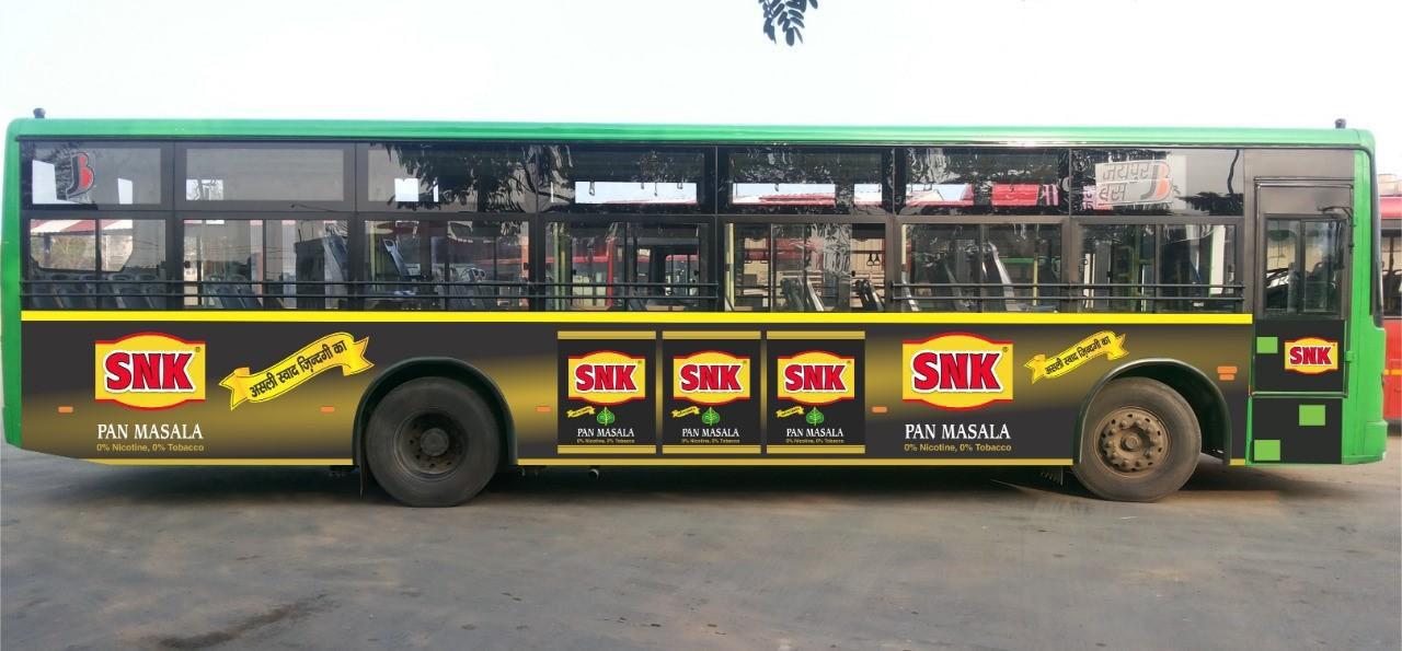 Low Floor Bus Branding