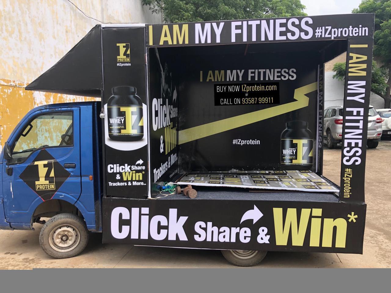 Mobile Van Branding